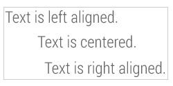 Contentdock text align help